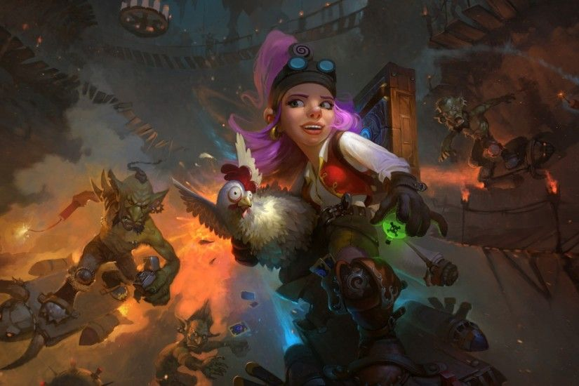 Preview wallpaper hearthstone, goblins vs gnomes, hearthstone heroes of  warcraft, warcraft, gnomes