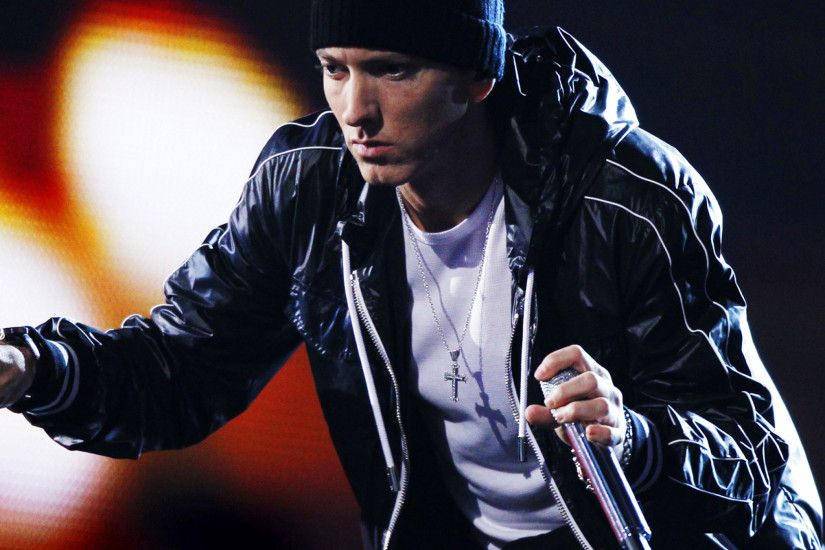 2048x2048 Wallpaper eminem, singer, rapper, hip-hop