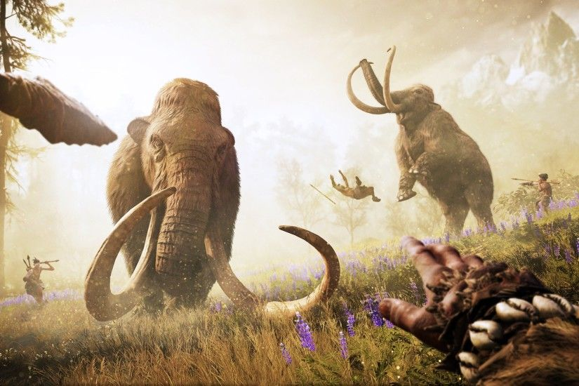 Far Cry Primal Ubisoft Mammoth (59 Wallpapers)