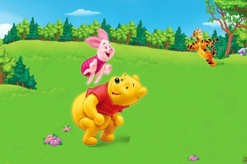 ... background photos Source · Tigger Piglet And Winnie The Pooh Game Skip  Cartoon Series For