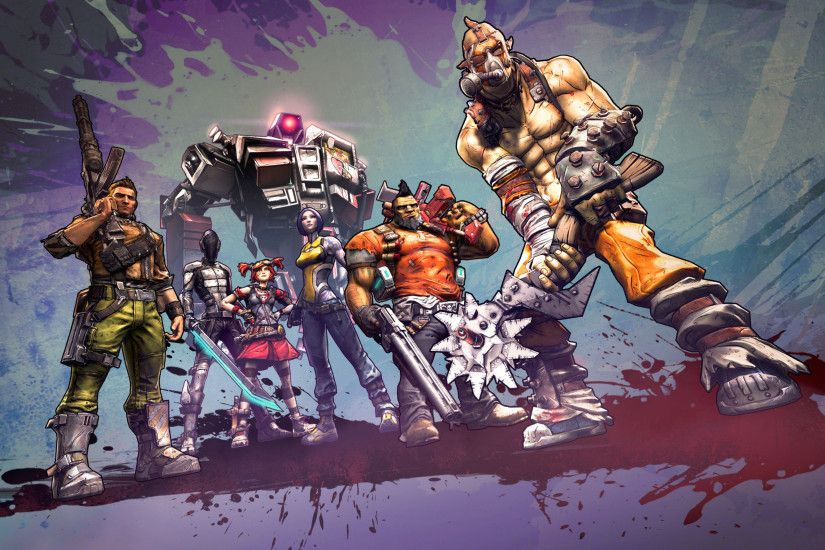 All 6 Borderlands 2 Class Characters