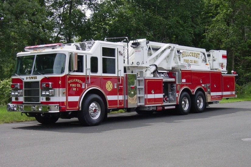 Images For > Pierce Fire Truck Wallpaper
