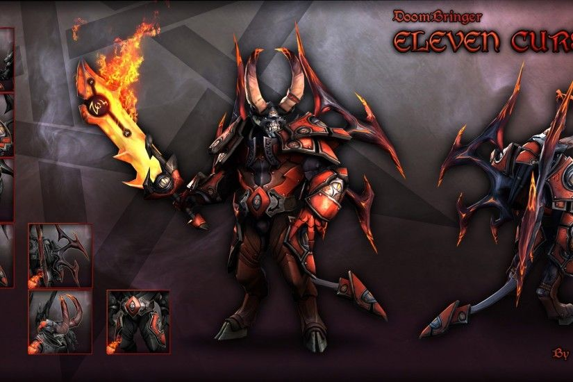 lucifer the doom dota 2 hero hd wallpaper image