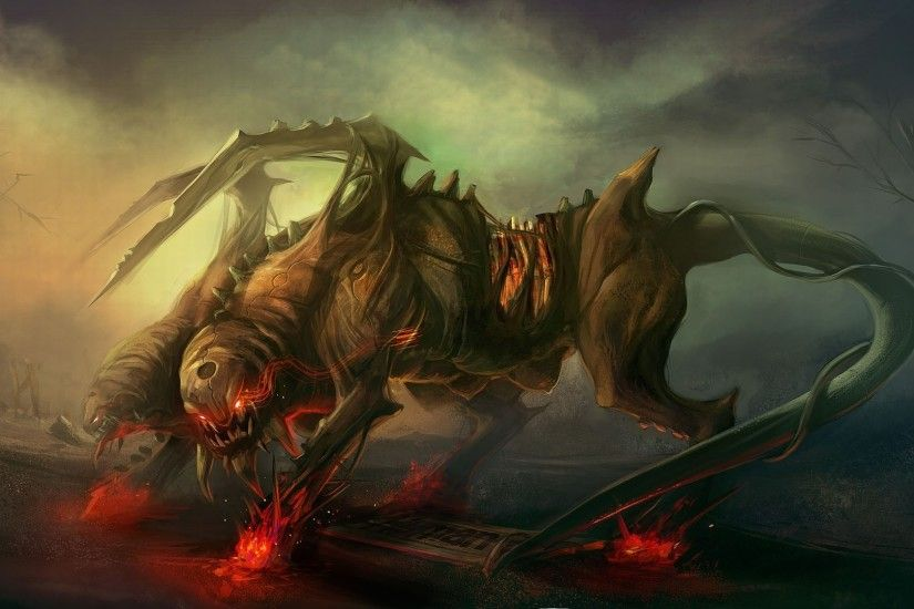 Fanyasy creatures | Fantasy creatures art horror background wallpapers  images Fantasy HD .