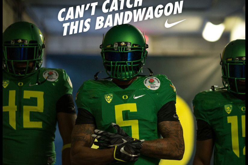 No bandwagon fans, just die-hard Ducks that support the team through wins  AND losses! Go Ducks!