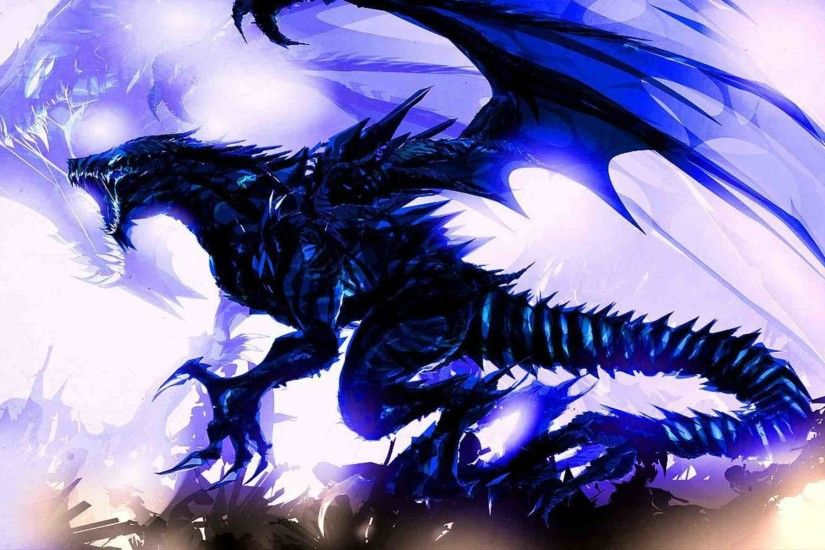 hybrid blue Dragon Wallpaper from Dragons.