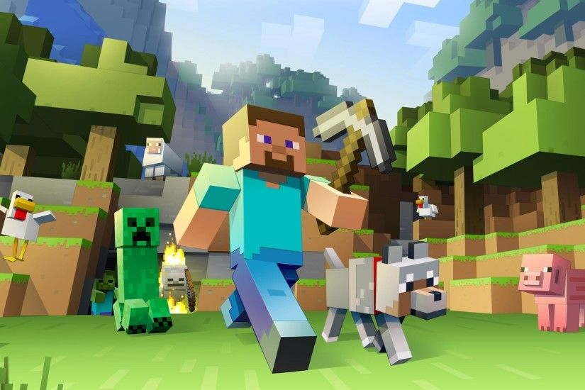 Minecraft Backgrounds HD Wallpaper 1920×1080