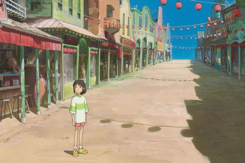 Chihiro Spirited Away · HD Wallpaper | Background ID:245048