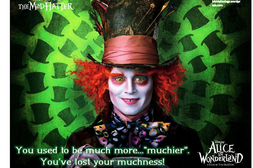 Johnny Depp and Mia Wasikowska Sign on for 'Alice in Wonderland 2 ...  Halloween Costume makeup hat Mad Hatter ...