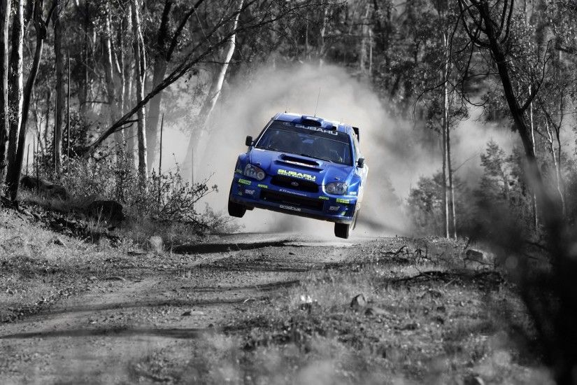 Cars jumping rally subaru impreza wrc selective coloring rally cars  wallpaper | 2560x1600 | 13089 | WallpaperUP