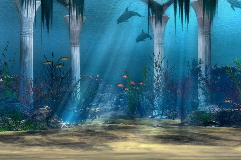3D Underwater Wallpapers and Background