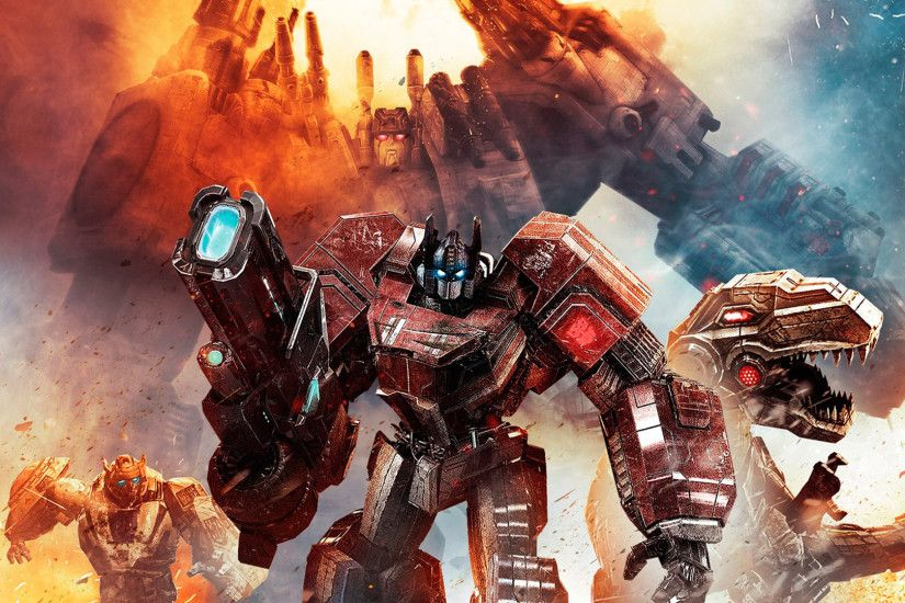 Video Game - Transformers: Fall Of Cybertron Wallpaper