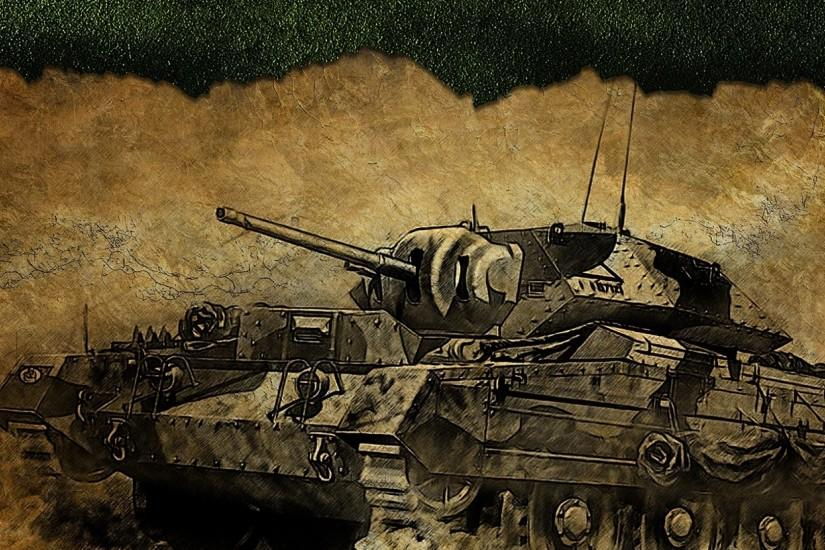 Preview wallpaper world of tanks, crusader, tank, game, figure 2560x1080
