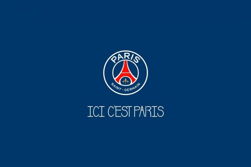 PSG, soccer, logo, Paris Saint-Germain, minimal