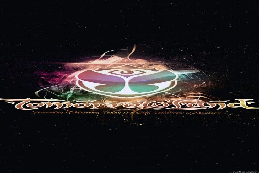 Tomorrowland 2014 Electronic Music Festival Logo Full HD Android Wallpaper  - 2560 x 1440