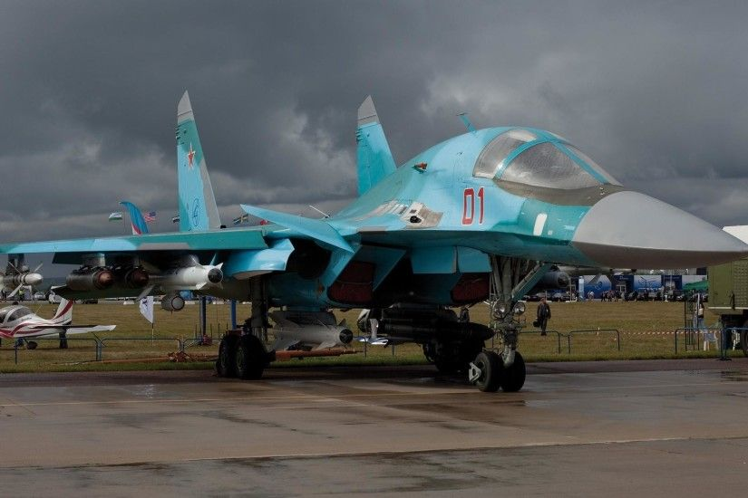 Sukhoi Su-34 new wallpapers