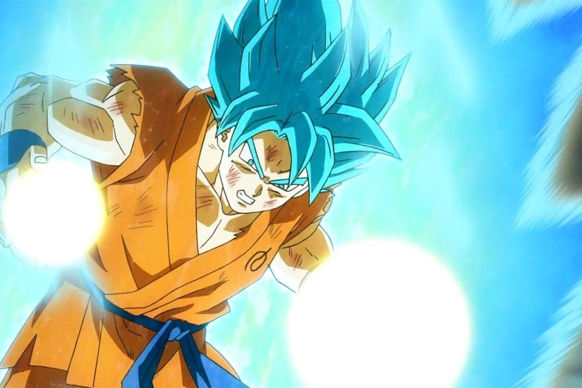 Son Goku Super Saiyan GOD Blue Wallpapers