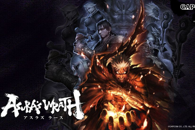 Asuras Wrath HD Wallpapers Backgrounds Wallpaper