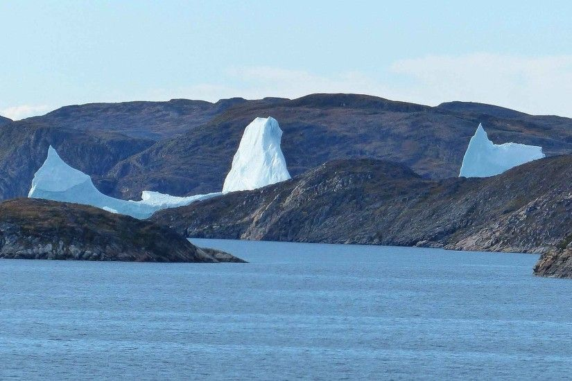 Landscapes Iceberg Greenland Cold New Nature Wallpaper HD Download