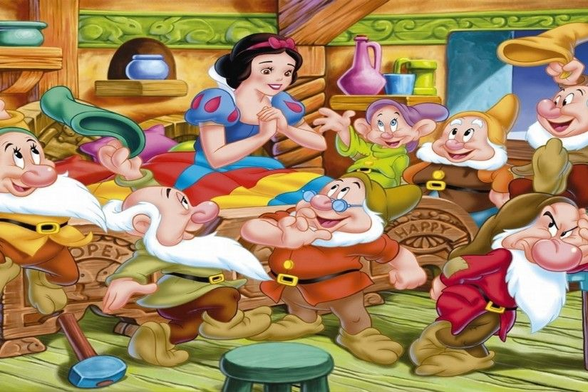 Snow White And The Seven Dwarfs 431616 - WallDevil. Download in full size