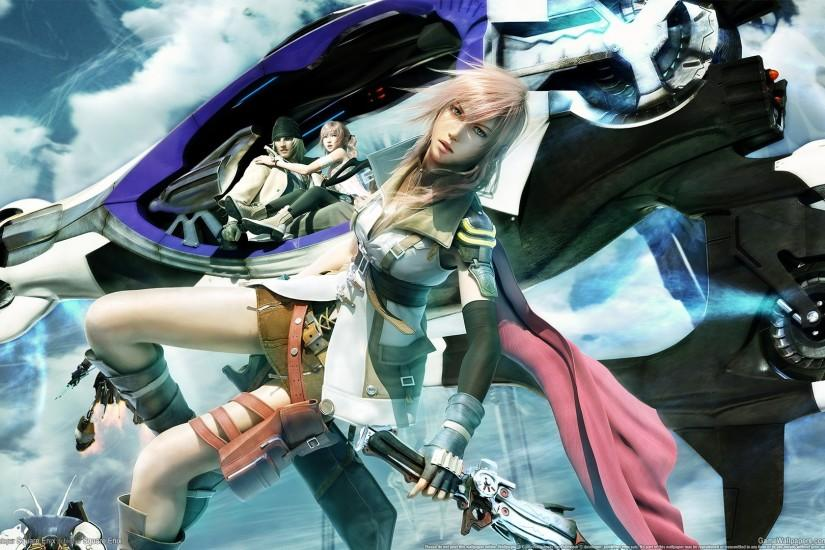 Final Fantasy XIII Wallpaper, PS3 Game 3 | HD Desktop Wallpapers