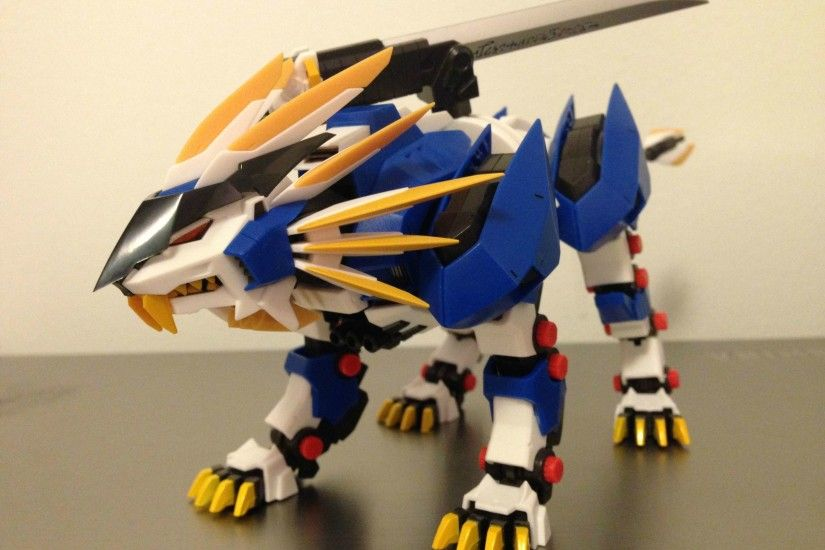 The Murasame Liger is the main protagonist Zoid of Zoids: Genesis, piloted  by Ruuji Familon.
