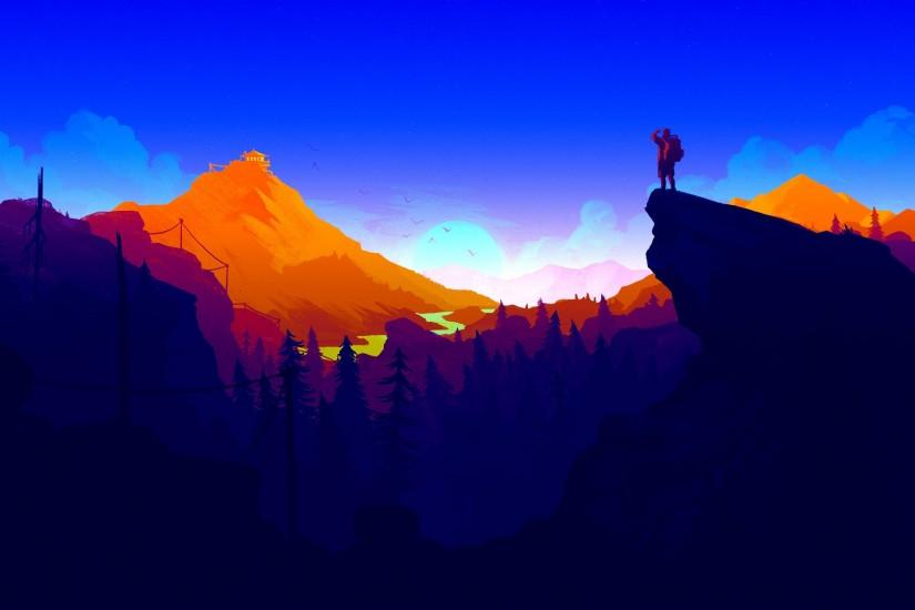 top firewatch wallpaper 3840x2160
