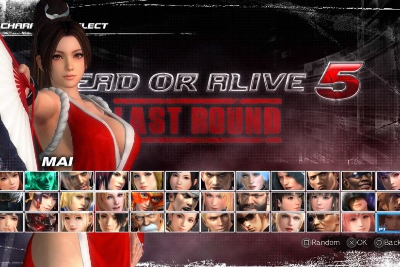 ... DEAD OR ALIVE 5 Last Round - Mai Shiranui by XDarkKingChaosX