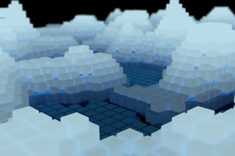 you can download the blend file here and hires version of the rendered  image here. cubes wallpaper