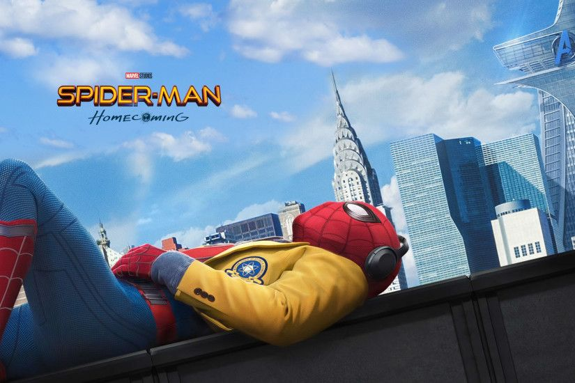 ... Spider-Man-Homecoming-official-Wallpapers-HD-1920-x- ...