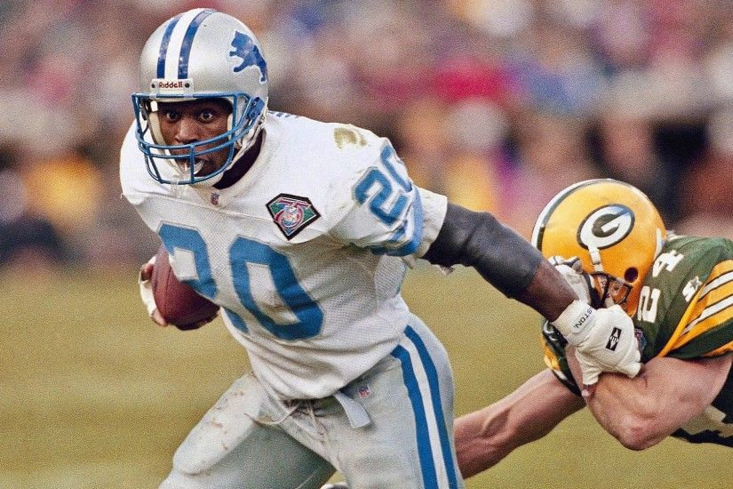 It's the Birthday of Detroit Lions legend Barry Sanders.