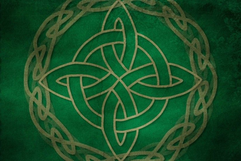 Green Celtic Cross Wallpaper - Viewing Gallery