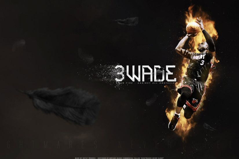Dwayne Wade Wallpaper - Heat Number 3, Super Leader of Miami Heat!