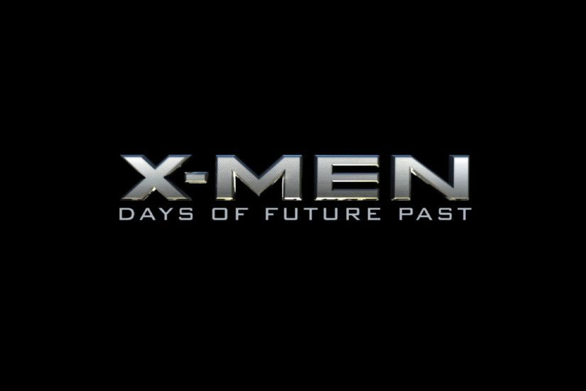 X-Men Days of Future Past Logo wallpaper hd
