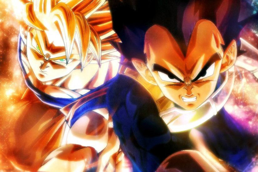 Dragon Ball - Goku & Vegeta 1920x1080 wallpaper