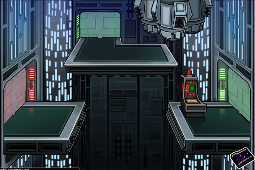 Another room inside of the Death Star
