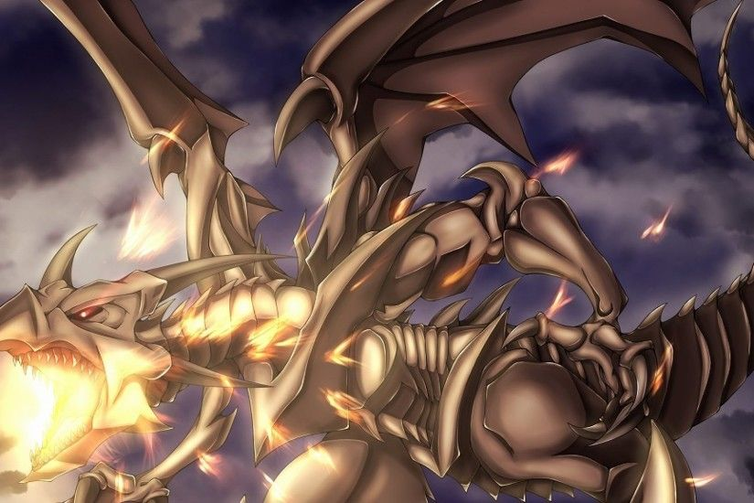 Red-Eyes Black Dragon Wallpaper HD