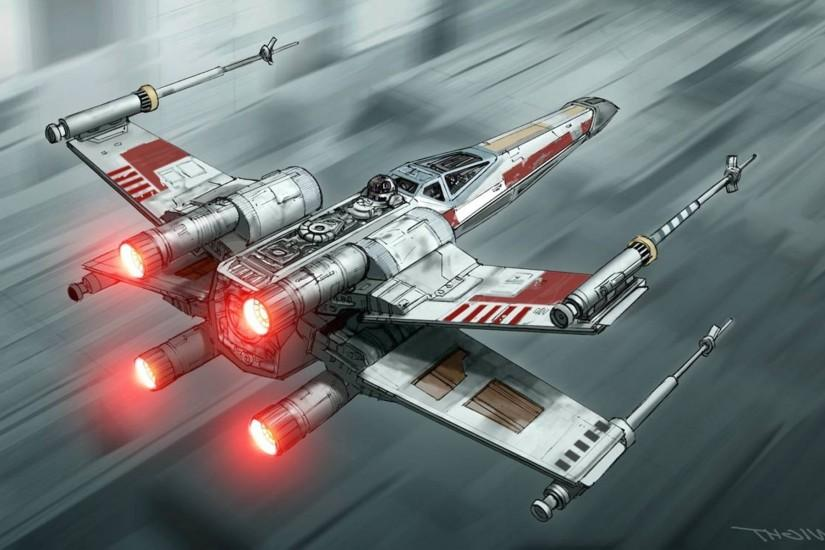 X wing, Star Wars