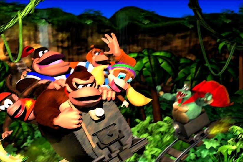 1920x1080 Donkey Kong Country Returns Wallpapers In HD Desktop Background .