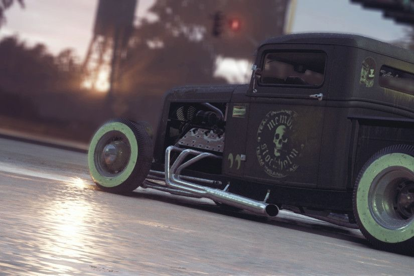 1920x1080 ford rust rat rod ford rat genus forest rain