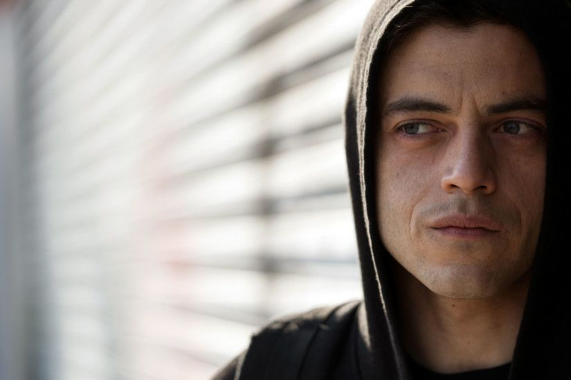 Rami Malek in Mr Robot Season 2