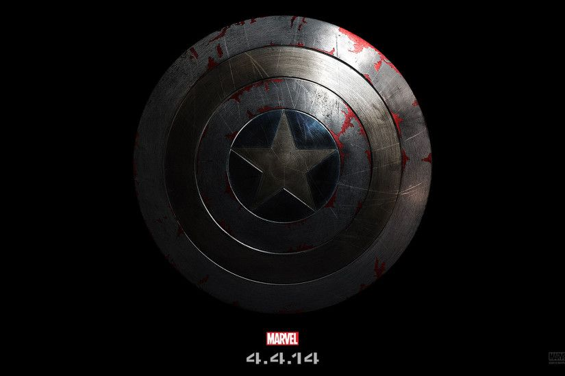 Captain America The Winter Soldier Shield. Captain-America-2-Shield-HD- Wallpaper