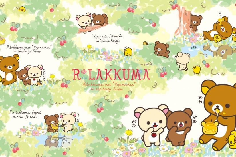 Widescreen Rilakkuma Wallpaper 1920x1080 Iphone
