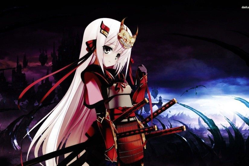 Samurai girl wallpaper - Anime wallpapers - #