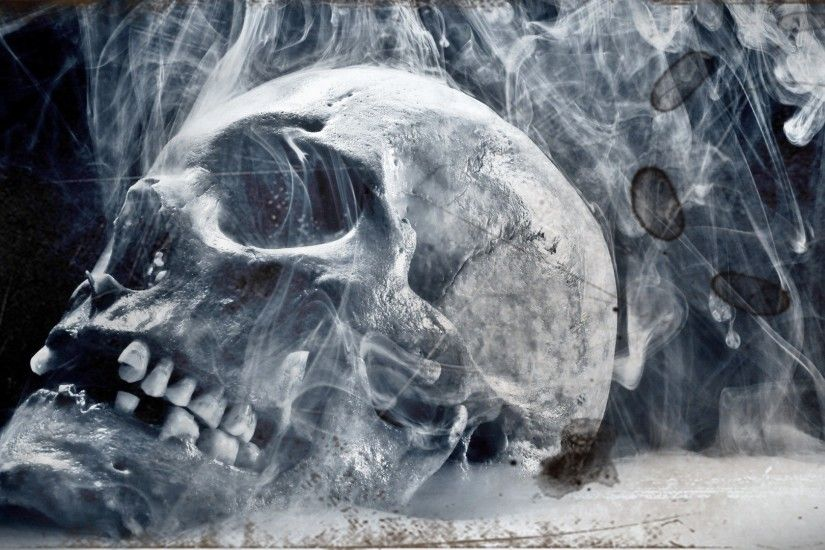 3D Skulls Desktop Wallpaper 1920x1080