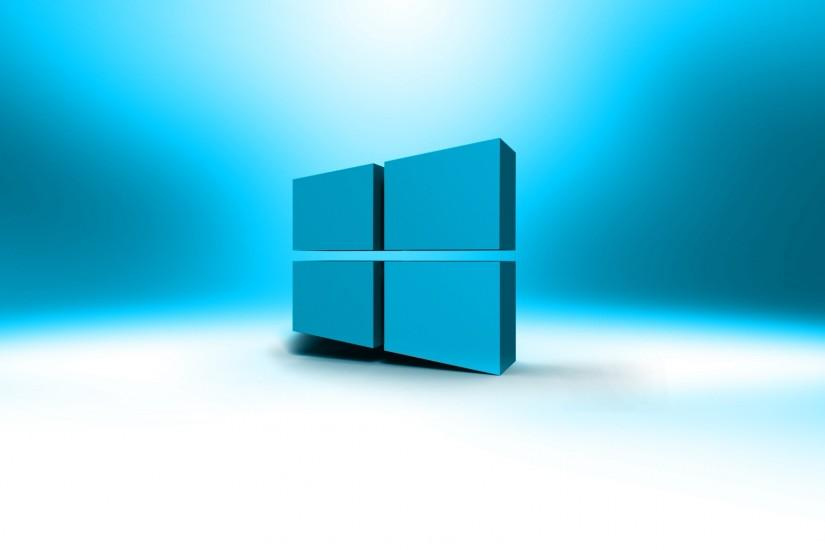 Microsoft Windows 10 3D wallpaper.