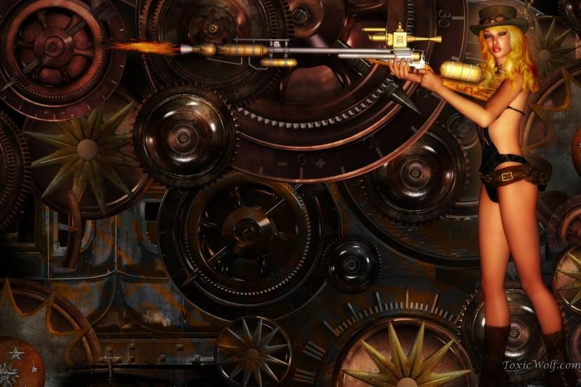 steampunk background 1920x1200 ipad retina