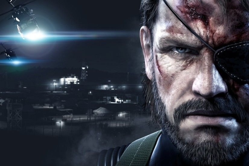 Wallpaper HD Metal Gear Solid V Ground Zeroes #MGSVGroundZeroes #MGS # MetalGearSolid #GroundZeroes