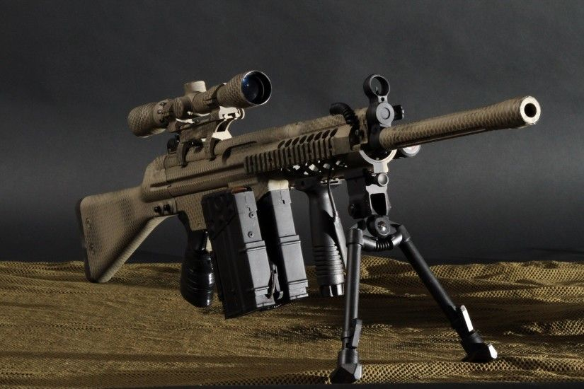 Sniper Rifles HD Wallpapers are free to download from AMB Wallpapers .