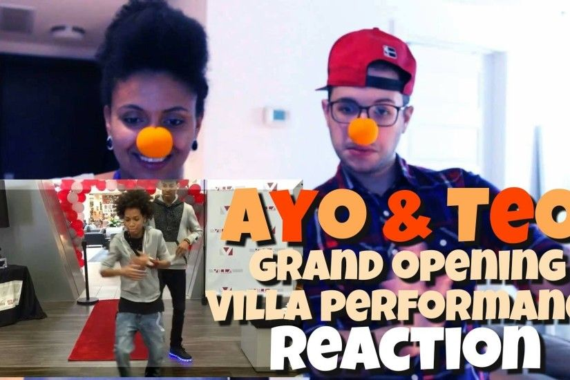 Ayo & Teo | Grand Opening Villa Performance Reaction - YouTube